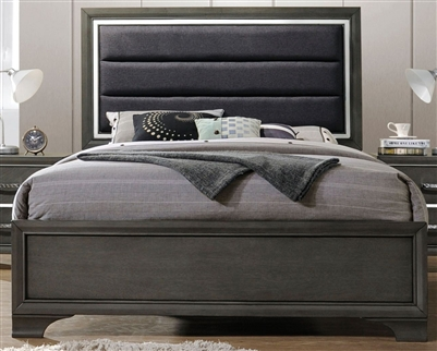 Carine II Bed in Gray Finish by Acme - 26260Q
