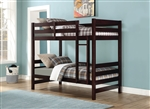 Ronnie Twin/Twin Bunk Bed in Espresso Finish by Acme - 37775