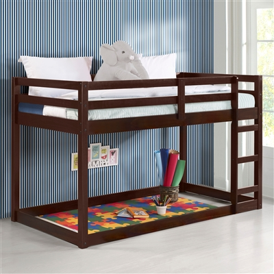 Gaston Loft Bed in Espresso Finish by Acme - 38185