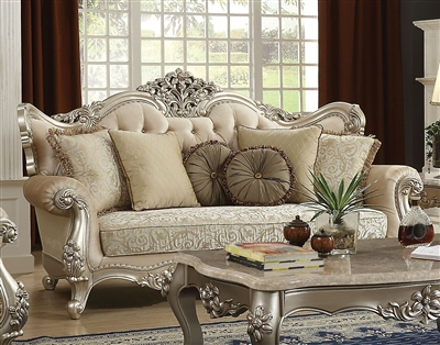 Bently Sofa in Champagne Finish by Acme - 50660