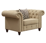 Aurelia Chair in Beige Finish by Acme - 52422