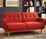 Sisilla Sofa in Red Finish by Acme - 52660