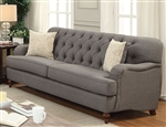 Alianza Sofa in Dark Gray Finish by Acme - 53690