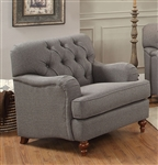 Alianza Chair in Dark Gray Finish by Acme - 53692
