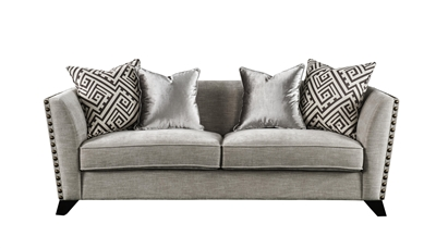 Cheyenne Sofa in Light Gray Finish by Acme - 54560