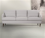 Helena Sofa in Pearl Gray Leather Finish by Acme - 54575