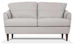 Helena Loveseat in Pearl Gray Leather Finish by Acme - 54576