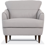 Helena Chair in Pearl Gray Leather Finish by Acme - 54577