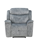 Mariana Recliner in Silver Gray Fabric Finish by Acme - 55032