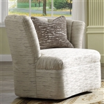 Athalia Chair in Shimmering Pearl Finish by Acme - 55307