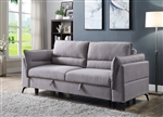 Helaine Sleeper Sofa in Gray Fabric Finish by Acme - 55560
