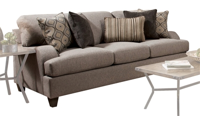 Cantia Sofa in 2-Tone Gray Fabric Finish by Acme - 55800