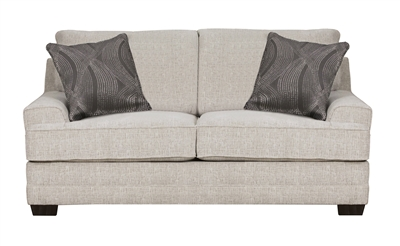 Avedia Loveseat in Beige/Gray Chenille Finish by Acme - 55806