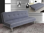 Melva Grey Fabric Adjustable Sofa Bed by Acme - 57020