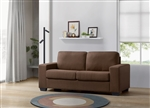 Zoilos Sleeper Sofa in Brown Fabric Finish by Acme - 57210