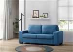 Zoilos Sleeper Sofa in Blue Fabric Finish by Acme - 57215