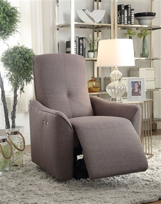 Agico Power Motion Recliner in Gray Fabric Finish by Acme - 59344