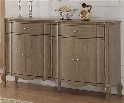 Chelmsford Server in Antique Taupe Finish by Acme - 66056