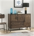 Garron Server in Walnut & Black Finish by Acme - 70739