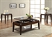 Docila 3 Piece Occasional Table Set in Walnut Finish by Acme - 80660-S