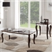 Mathias 3 Piece Occasional Table Set in Walnut & White Finish by Acme - 80680-S