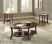 Iara 3 Piece Occasional Table Set in Espresso Finish by Acme - 82260-S