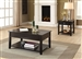 Malachi 3 Piece Occasional Table Set in Black Finish by Acme - 82950-S