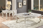 Erigeron 3 Piece Occasional Table Set in Antique Pearl Finish by Acme - 83060-S