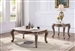 Jayceon 3 Piece Occasional Table Set in Marble Top & Champagne Finish by Acme - 84865-S