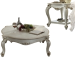 Picardy 3 Piece Occasional Table Set in Antique Pearl Finish by Acme - 86880-S