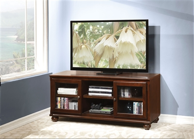 Dita 58 Inch TV Console in Walnut Finish by Acme - 91108