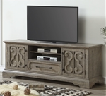 Artesia 75 Inch TV Console in Salvaged Natural Finish by Acme - 91765
