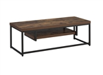 Bob 47 Inch TV Console in Weathered Oak & Black Finish by Acme - 91780