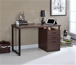 Coy Executive Home Office Desk in Dark Oak Finish by Acme - 92388