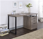 Coy Executive Home Office Desk in Gray Oak Finish by Acme - 92390