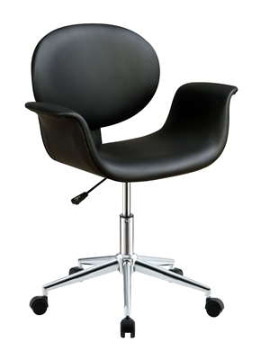 Camila Office Chair in Black PU Finish by Acme - 92420