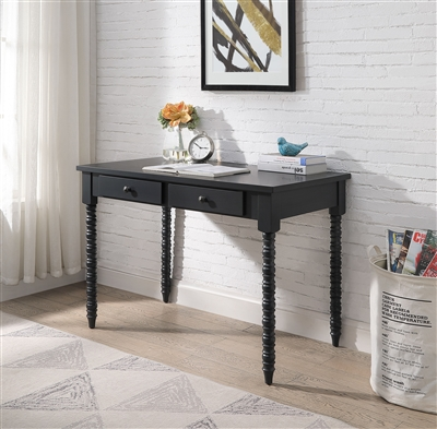 Altmar Executive Home Office Desk in Black Finish by Acme - 93012