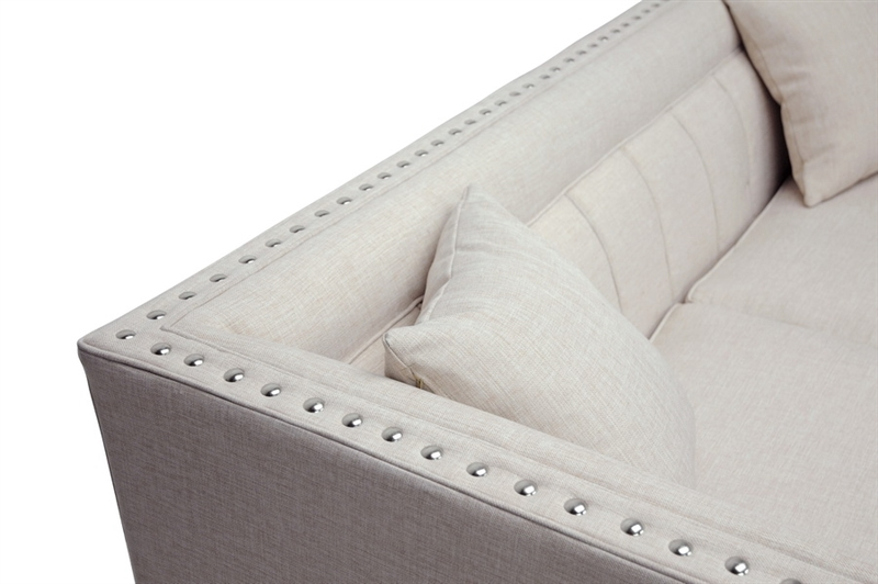 Remarkable Stapleton Beige Linen Modern Sofa And Chair Set By Baxton Studio Bax Tsf 71023 Beige Spiritservingveterans Wood Chair Design Ideas Spiritservingveteransorg