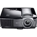 BenQ MP525P DLP Projector- F/2.55-2.65 - HDTV - 1080p - 1024 x 768 - XGA - 2600:1 - 2500 lm - 4:3 - VGA - 1 Year Warranty