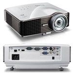 DLP Projector SVGA 2700- MS614 is a DLP projector, SVGA, 2700 AL, 5000:1 CR, 3D Ready, HDMI, USB Dsiplay & Reader, 2W speaker
