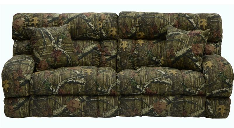 Appalachian Queen Sleeper Sofa In Mossy Oak Or Realtree