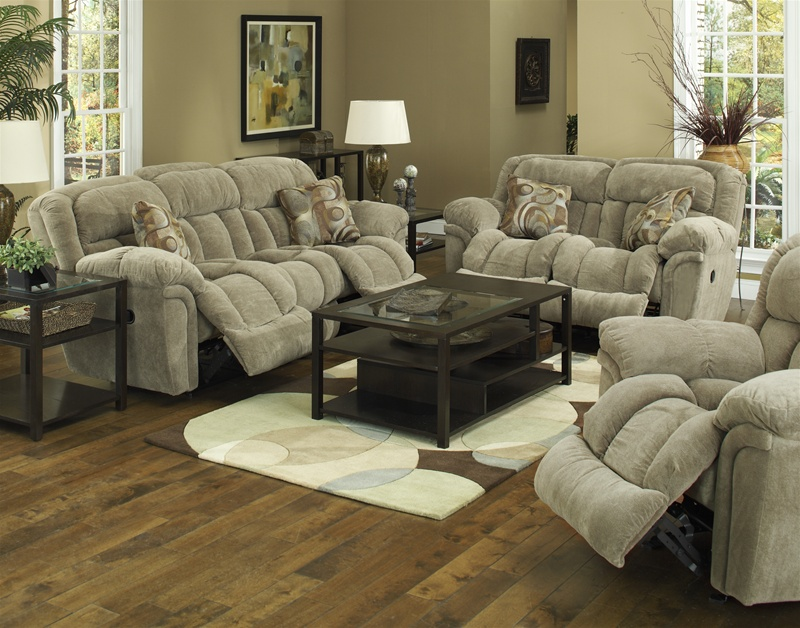 Tundra 2 Piece Reclining Sofa Set In