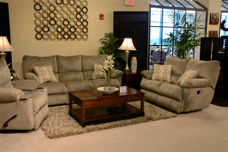 Gavin Rocking Reclining Loveseat In Quot Taupe Quot Color Fabric