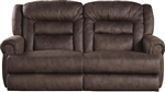 Atlas Reclining Sofa in Sable Fabric by Catnapper - 1551