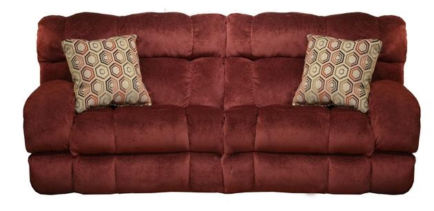 Siesta Lay Flat Reclining Sofa in  Wine  Color Fabric by Catnapper - 1761-W  sc 1 st  Home Cinema Center & Siesta Lay Flat Reclining Sofa in