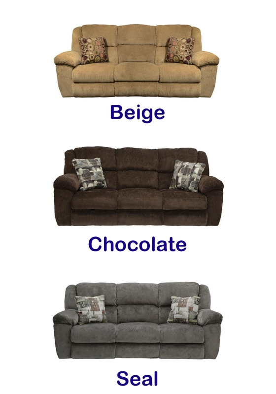 Fabulous Transformer Ultimate Reclining Sofa In Beige Fabric By Catnapper 19445 Pabps2019 Chair Design Images Pabps2019Com