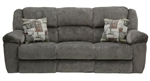 Transformer Ultimate Reclining Sofa in Seal Fabric by Catnapper  - 19445-S