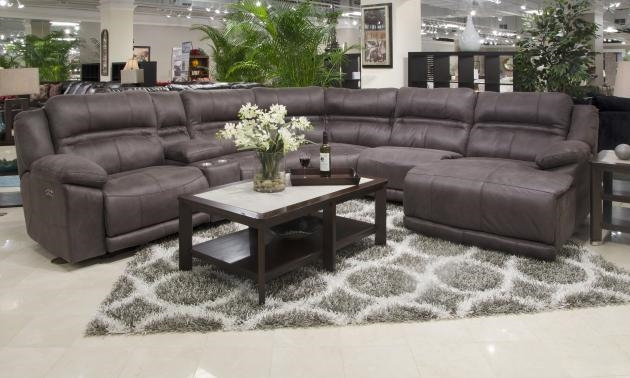 Braxton Build Your Own Reclining Sectional In Dark