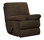 Elliott Glider Recliner in Chocolate Chenille Fabric by Catnapper - 22506-CH