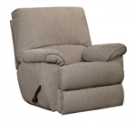 Elliott Glider Recliner in Pewter Chenille Fabric by Catnapper - 22506-P
